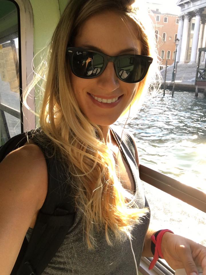 water bus in Venice Italy
