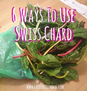 6 ways to use swiss chard