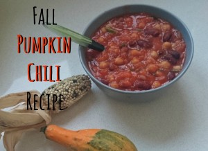 Fall Pumpkin Chili