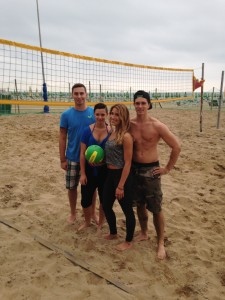 beach volleyball lignano italy