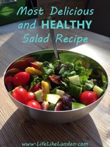 most delicious salad recipe
