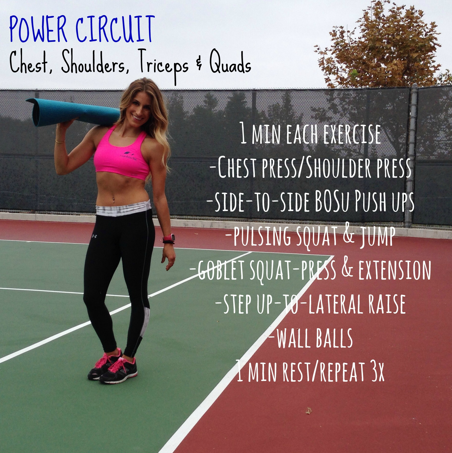 Chest and triceps supersize circuit